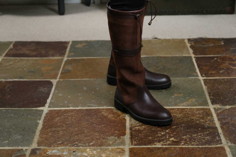 Dubarry brown leather boots