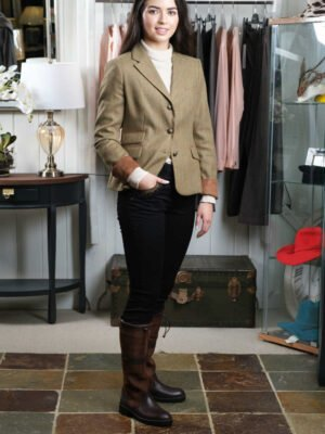 Dubarry brown tailored jacket