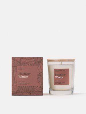 Field Day Winter Candle Large