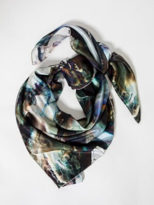 XL Silk Square scarf by Niamh Daniels