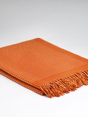 Millars Alpine Sunset Cashmere throw