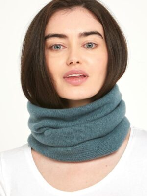 Teal Blue Snood