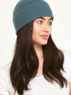Cashmere Hat Norfolk Blue