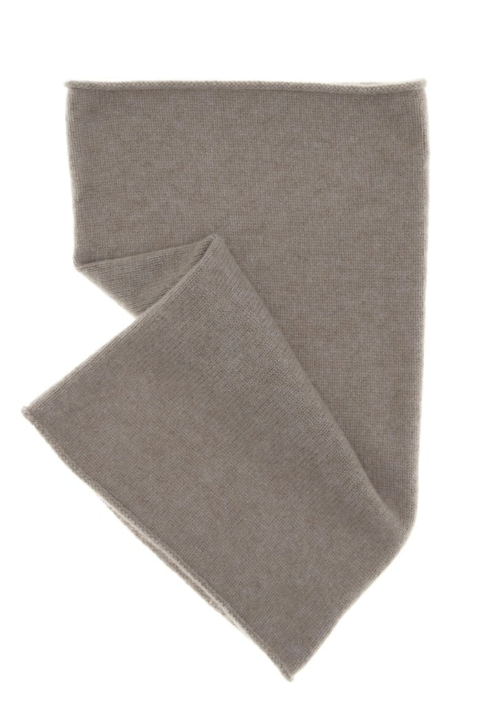 Brown CAshmere snood