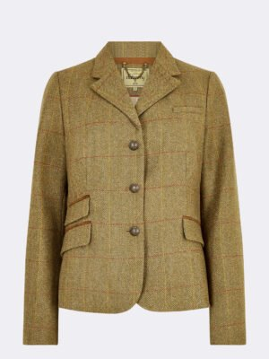 Buttercup Tweed Jacket in Elm
