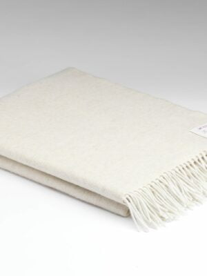 Millars Supersoft Linen Herringbone Throw
