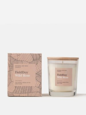 Field Day Wild Rose Candle