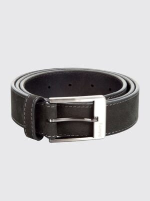 Dubarry Black Mens Belt