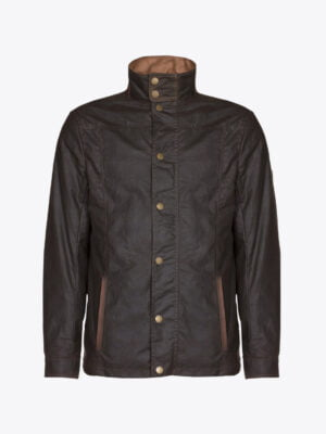 Carrickfergus Wax Jacket Pine