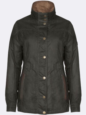 Mountrath Waxed Jacket Olive