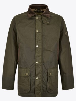 MW19344 Mountbellew Pine Wax Jacket