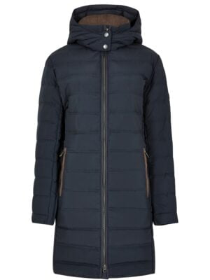 Dubarry Ballybrophy quilted coat navy