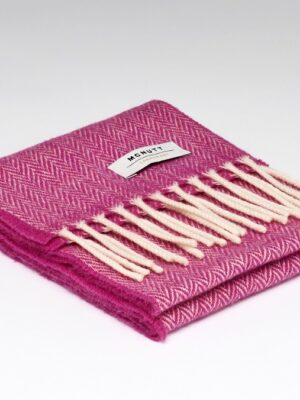 McNutt Kids Raspberry Wool Scarf