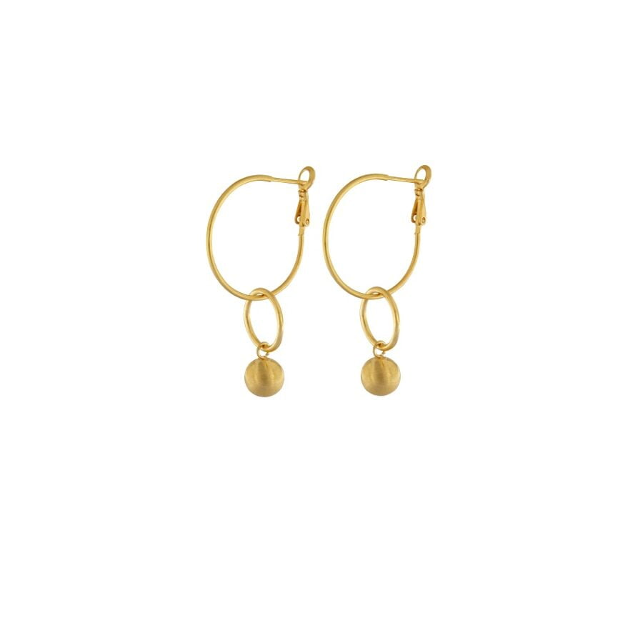 Dansk Tabitha Circle Earrings