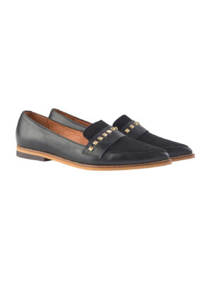 mos mosh doha leather loafer
