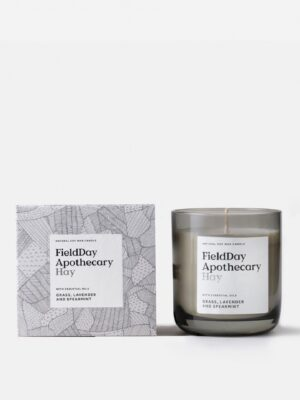 Field Apothecary Hay Candle And Box
