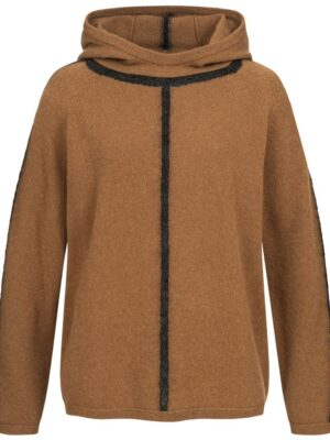 Zoe Hooded Cashmere Sweater